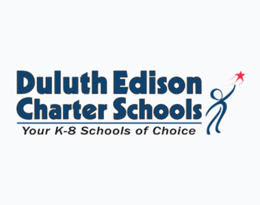 Thumb Duluth Edison Charter Schools – Logo