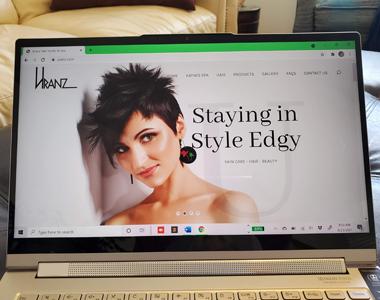 Thumb Uranz Hair Studio & Spa: Website Re-Development with Format Upgrades